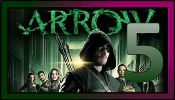 NumberFiveTVShowApril2015Arrow