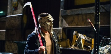 Stephen Amell as Casey Jones in TMNT