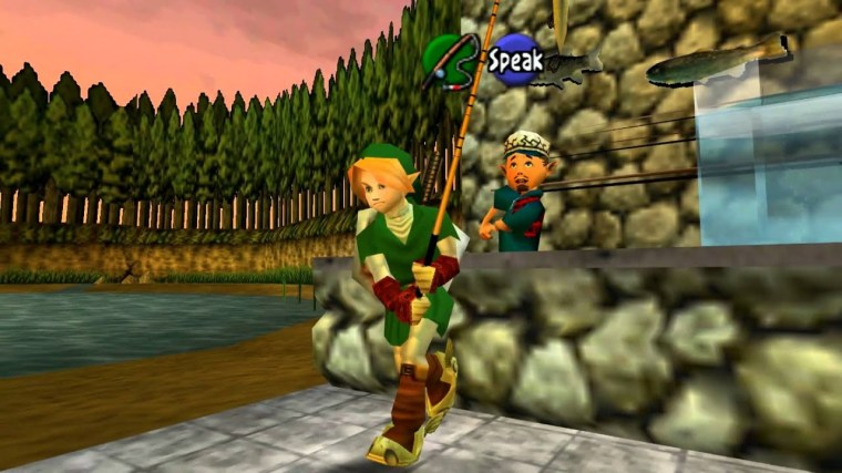 legendofzelda_ocarinaoftime_fishing