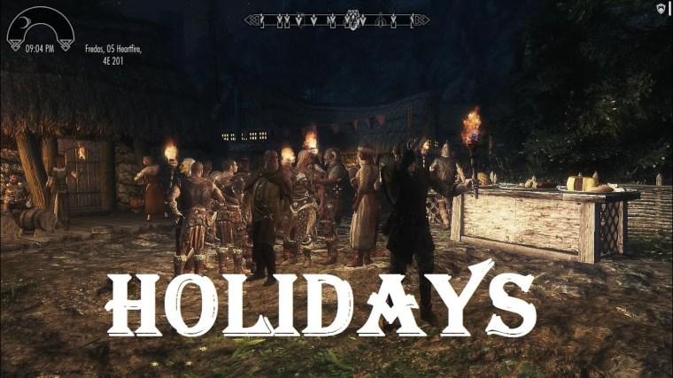 HolidaysSkyrimMod